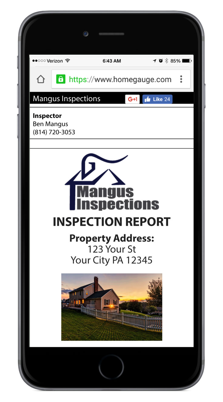 HomeGuage Home Inspection Report
